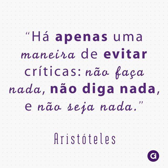 Criticas - Aristoteles